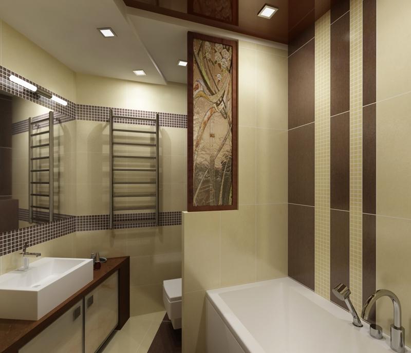 ванной комнаты и туалета плиткой фото