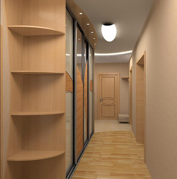 Дизайн прихожей в квартире в панельном доме реальные