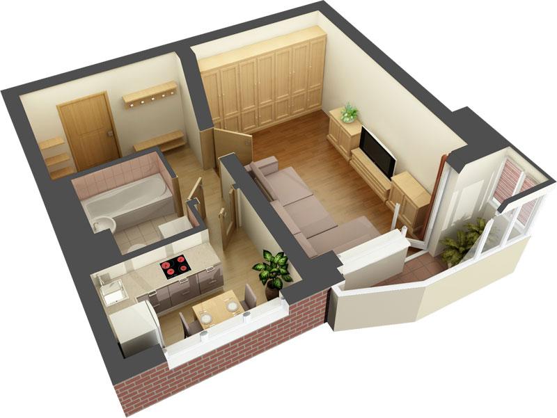 Дизайн проекты для ремонта квартиры