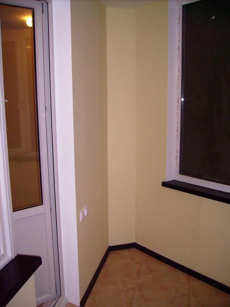 Покраска балкона внутри фото. - остекление - каталог статей .