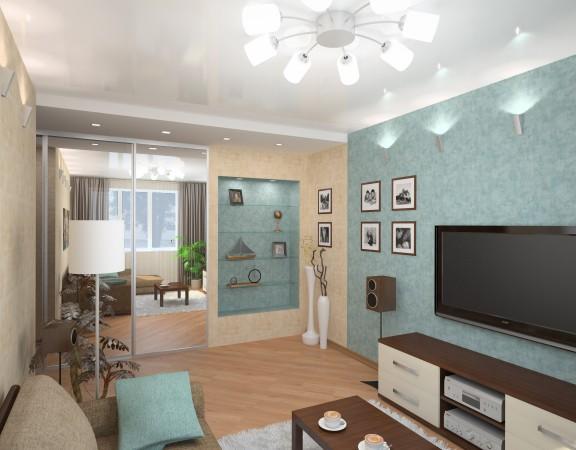 Фото ремонта гостиных в квартирах
