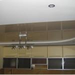 Отделка потолков на кухне фото