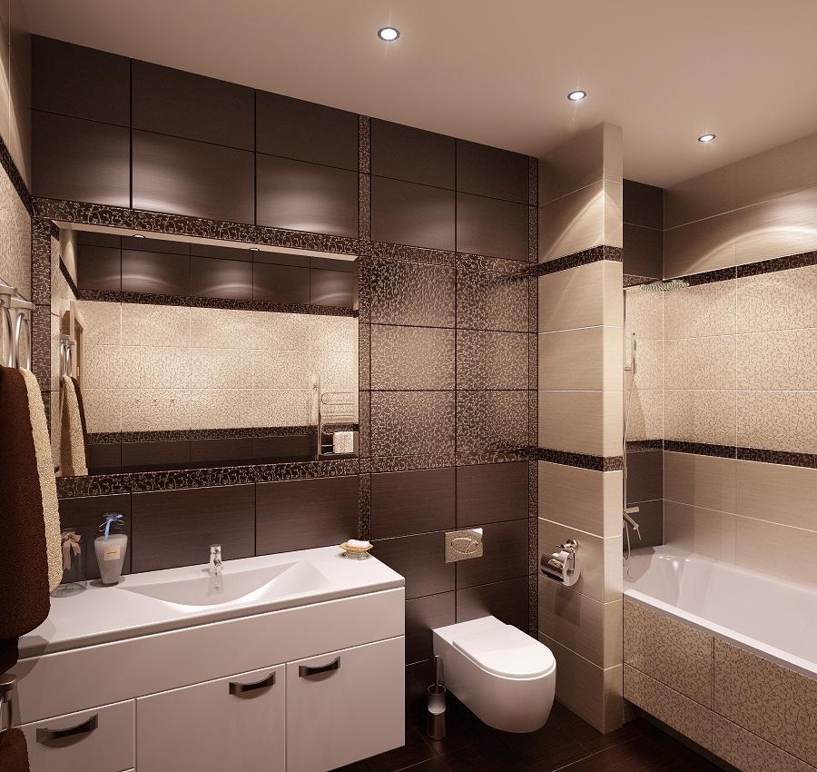 Дизайн ванной комнаты 2017 в