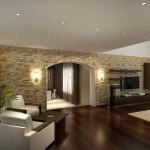Ремонт в гостиной – фото после отделки