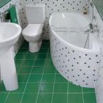 Ремонт в маленькой ванной фото