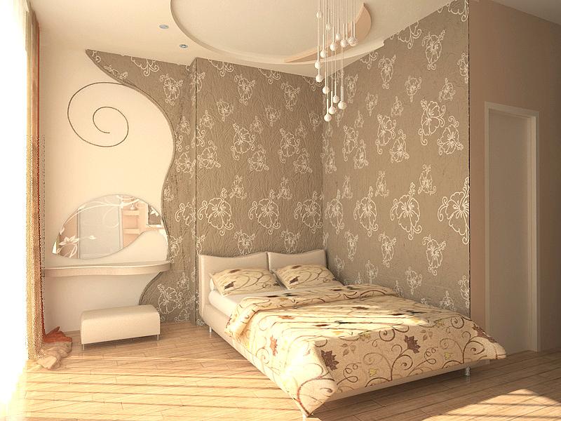 ремонт квартир фото спальни обои