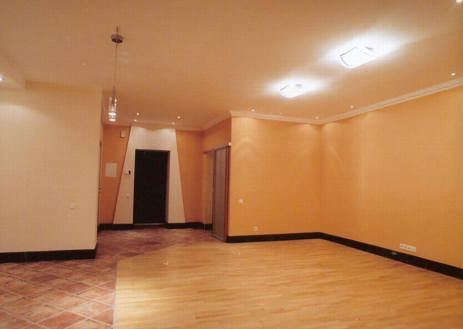 Ремонт гостиной на улице Островского