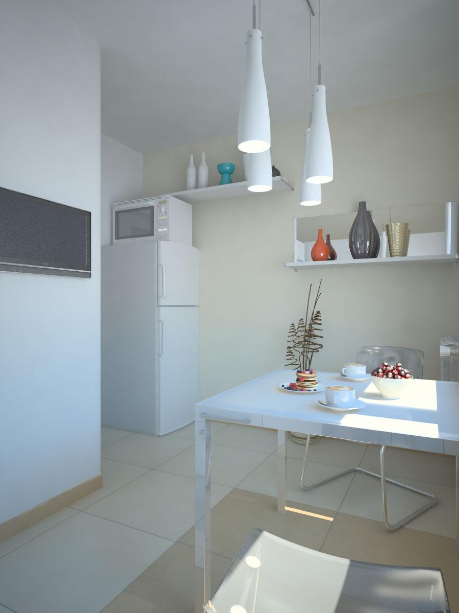 Ремонт кухни 9 кв м