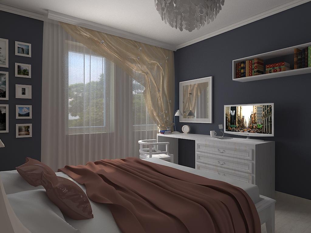 Ремонт спальни 12 кв м