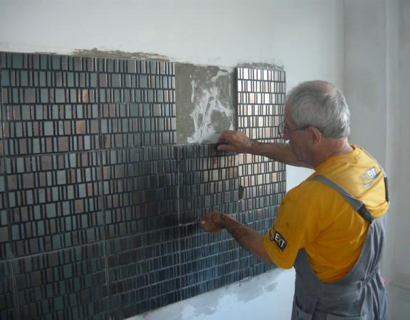 Ремонт стен на кухне своими руками