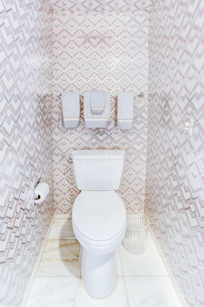 Фото дизайн туалета из панелей фото