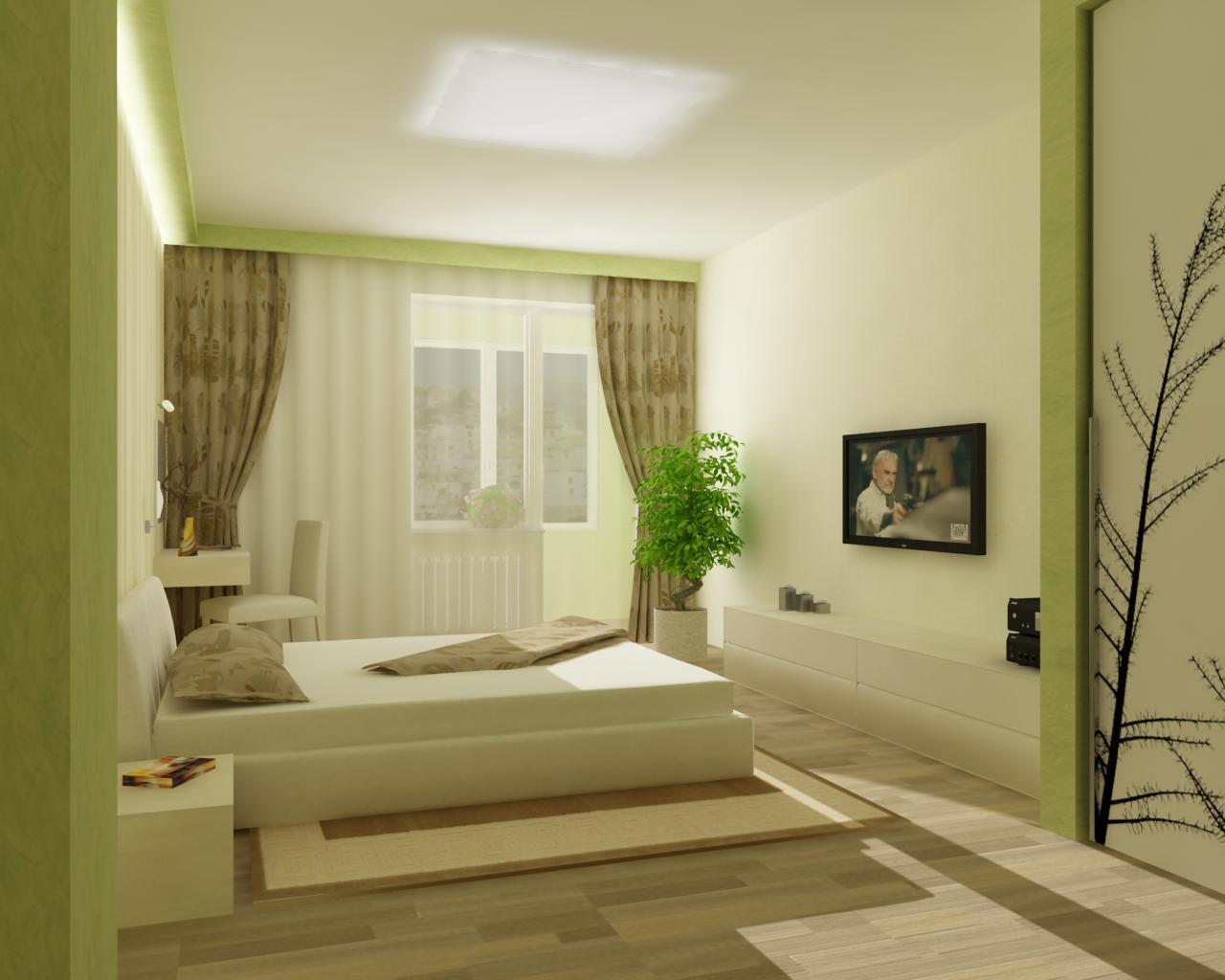 Современные варианты отделки комнаты обоями