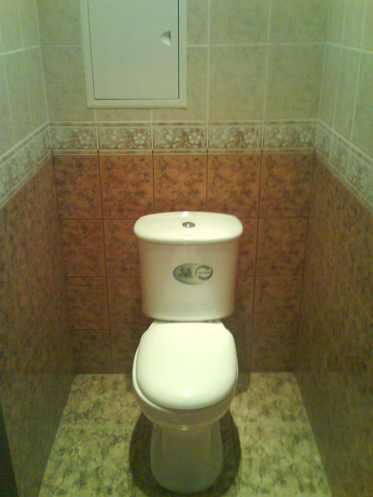 Ремонт туалета на Татарской