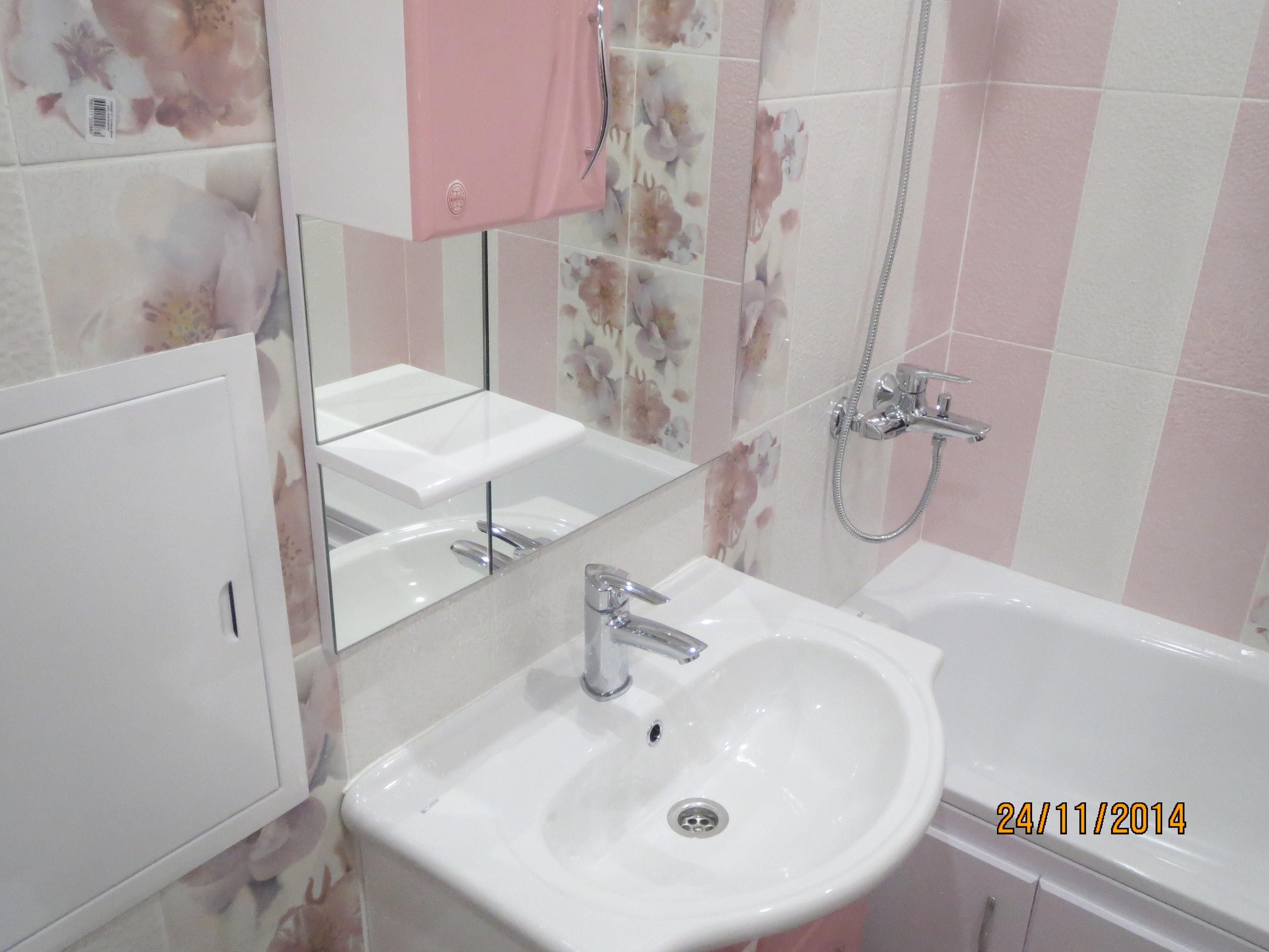 Ремонт ванной на улице Бирюзова