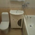 Ремонт ванной на улице Дачная