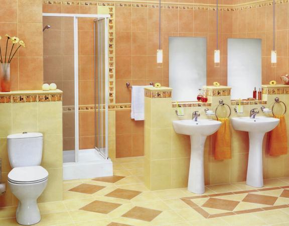 Керамическая плитка в ванной // dekor36.ru
